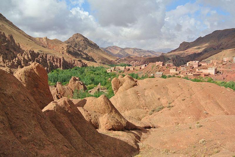 Mapa do Marrocos para viajar