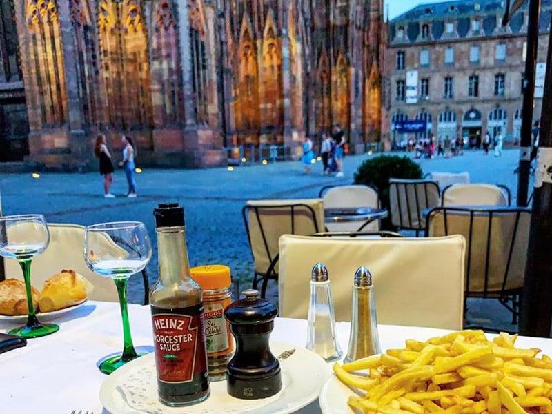 onde comer no centro de estrasburgo?
