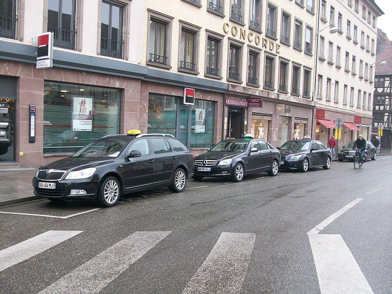 táxi em estrasburgo preços
