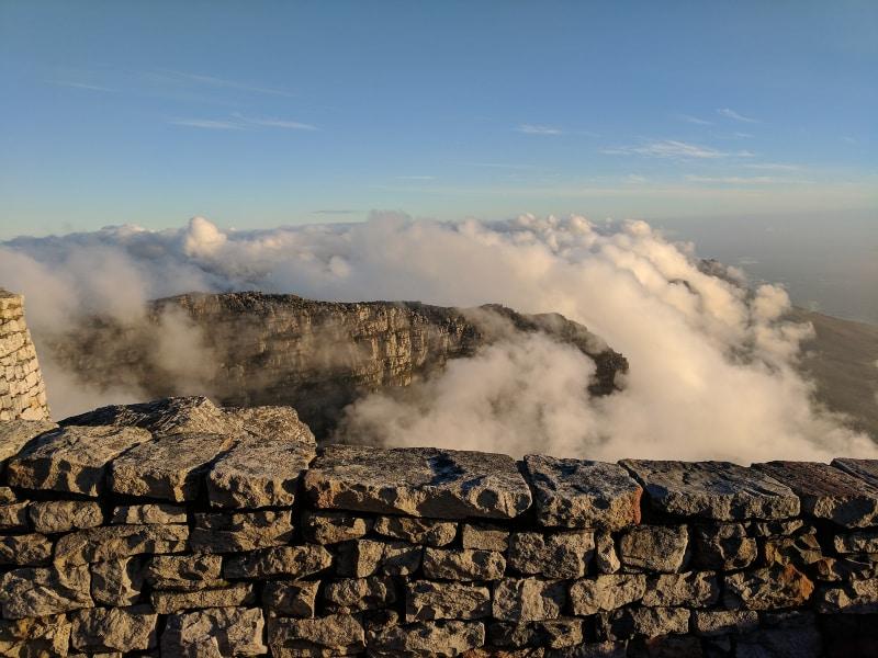 Table Mountain maravilhas do mundo