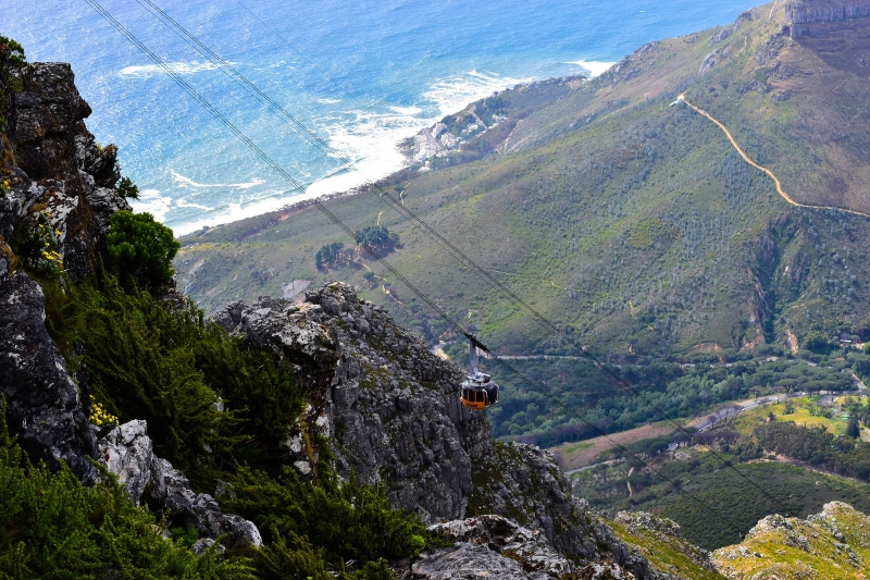 Table Mountain teleférico