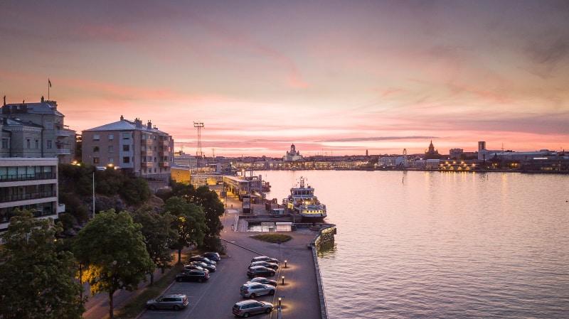 Tempo Helsinque Finlândia
