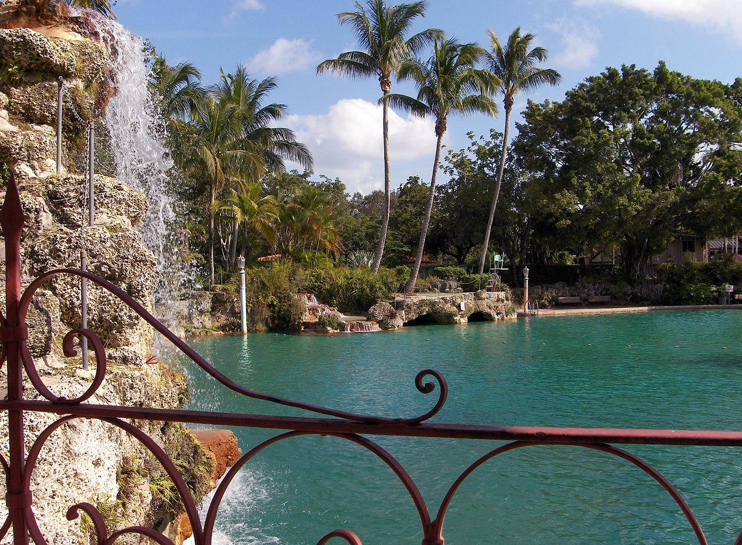 Venetian pool em Miami