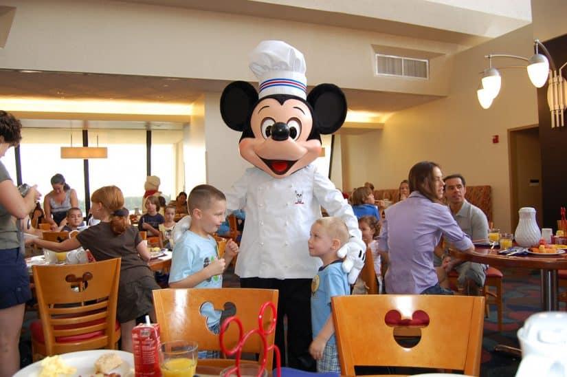 Restaurante Mickey Disney