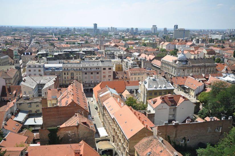 cidade baixa Zagreb