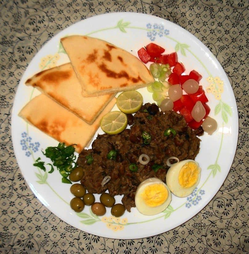 Pratos típicos do Egito