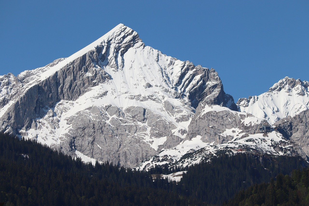 estação de esqui na Alemanha