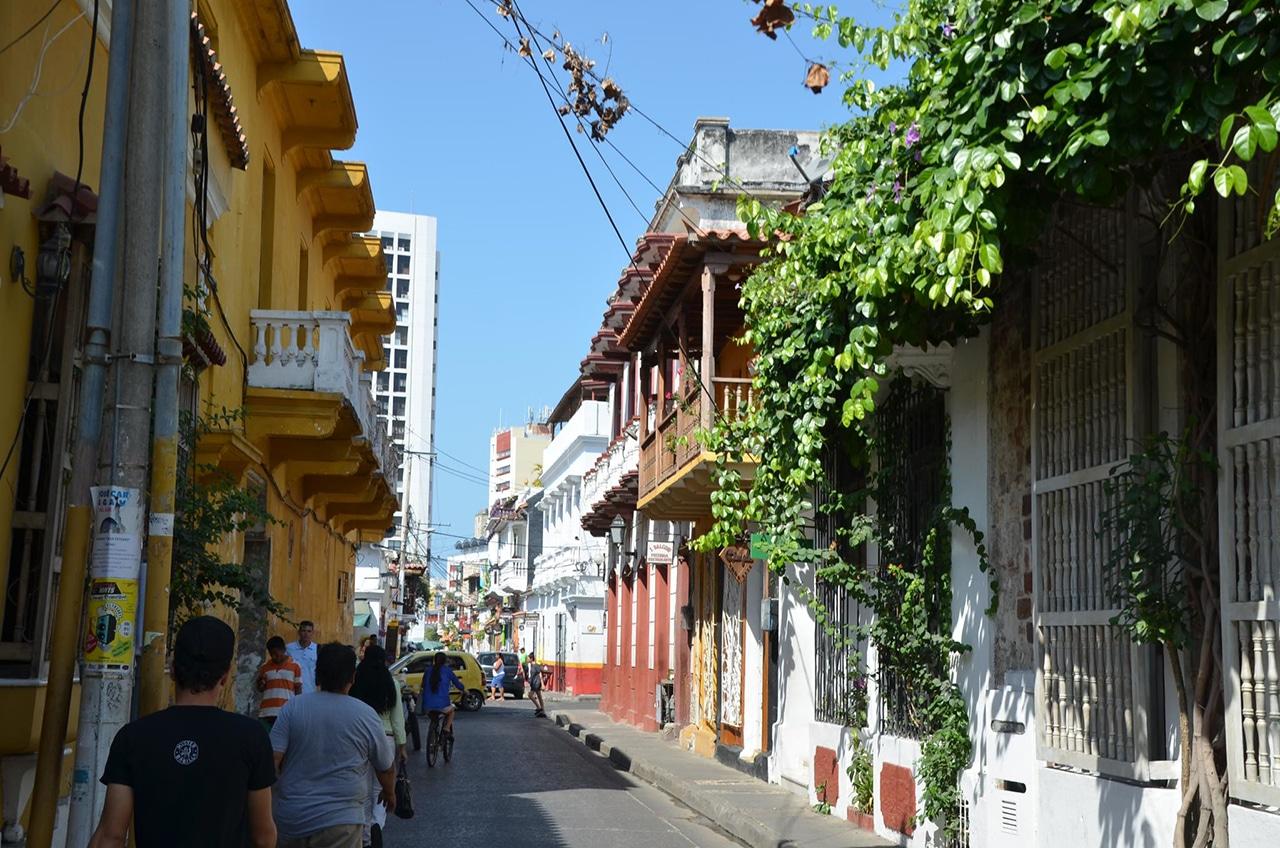 tour guiado em Cartagena