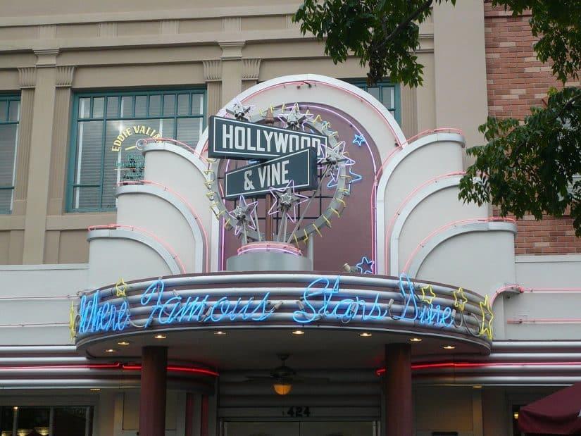 Restaurante Hollywood Studios Diney