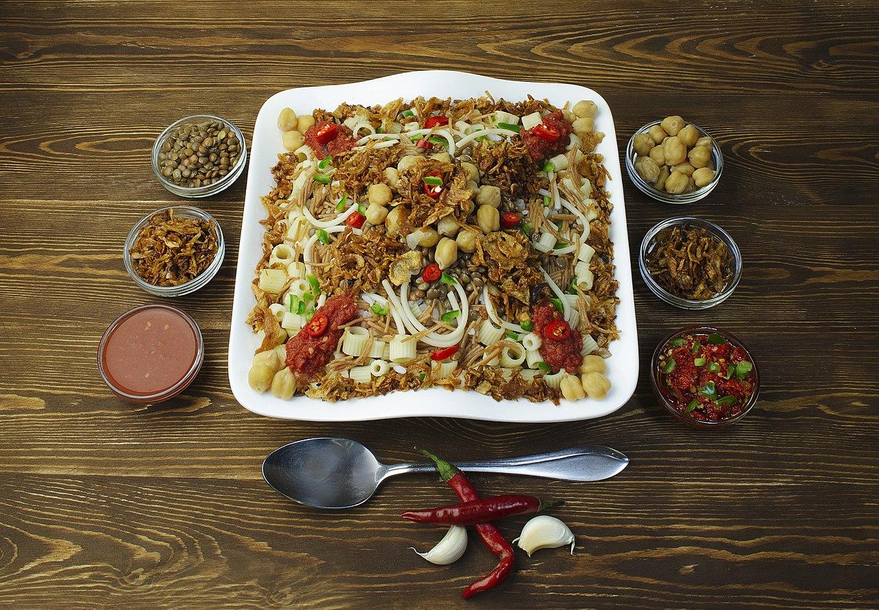 Comidas típicas do Egito