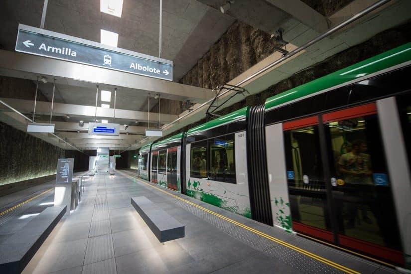 Metro em Granada