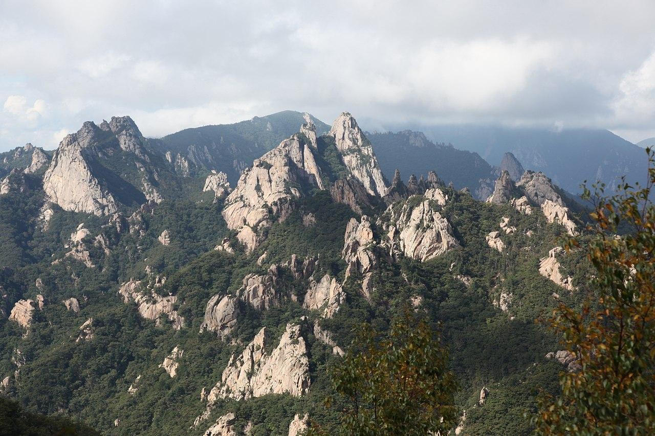 belezas naturais da Coréia do Sul