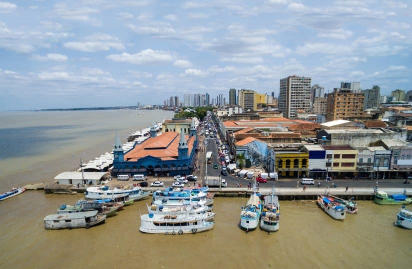 passeio de barco no Pará
