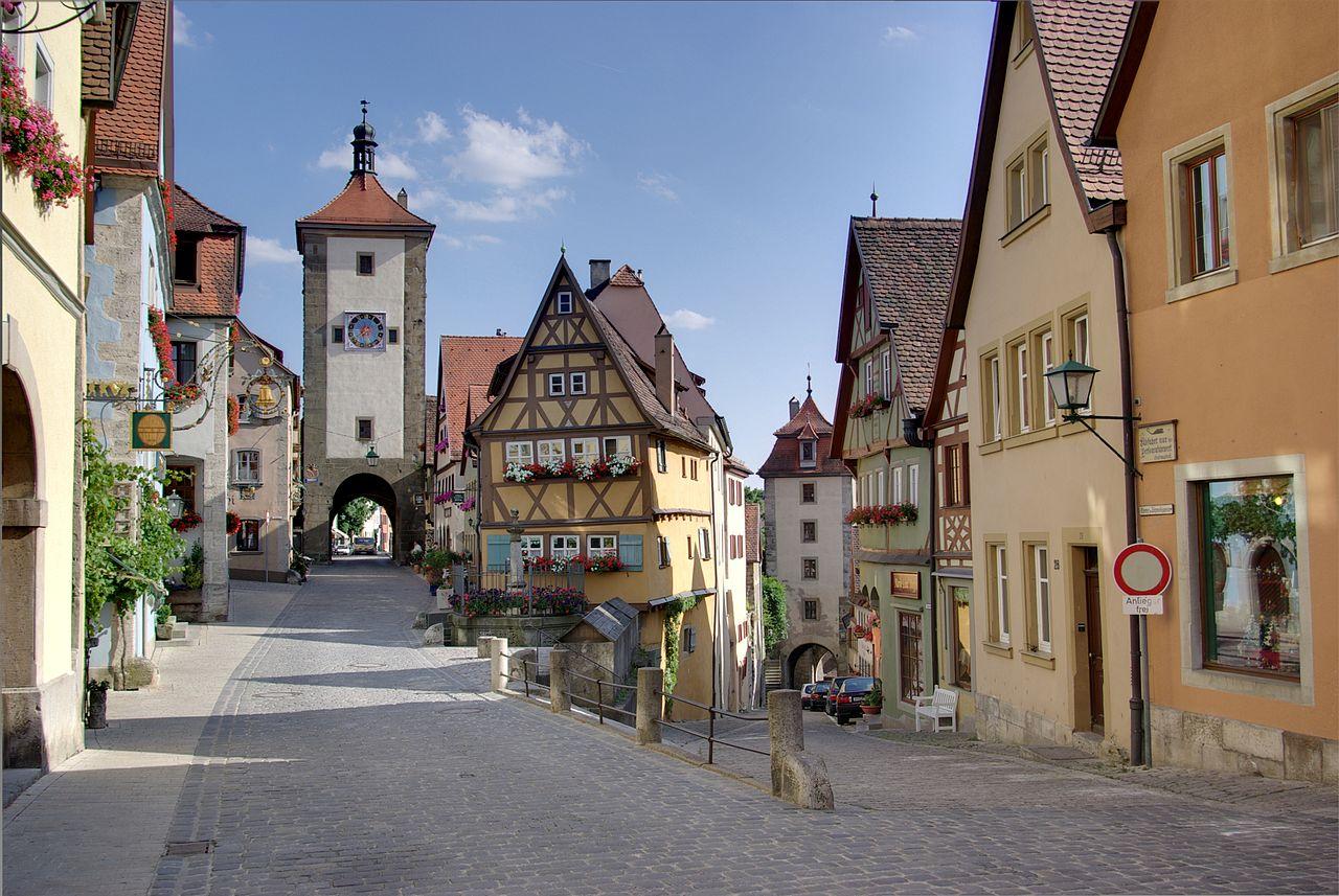 cidade de Rothenburg