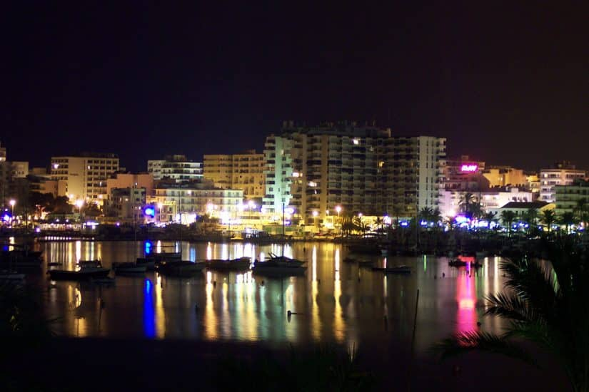 noite em Ibiza