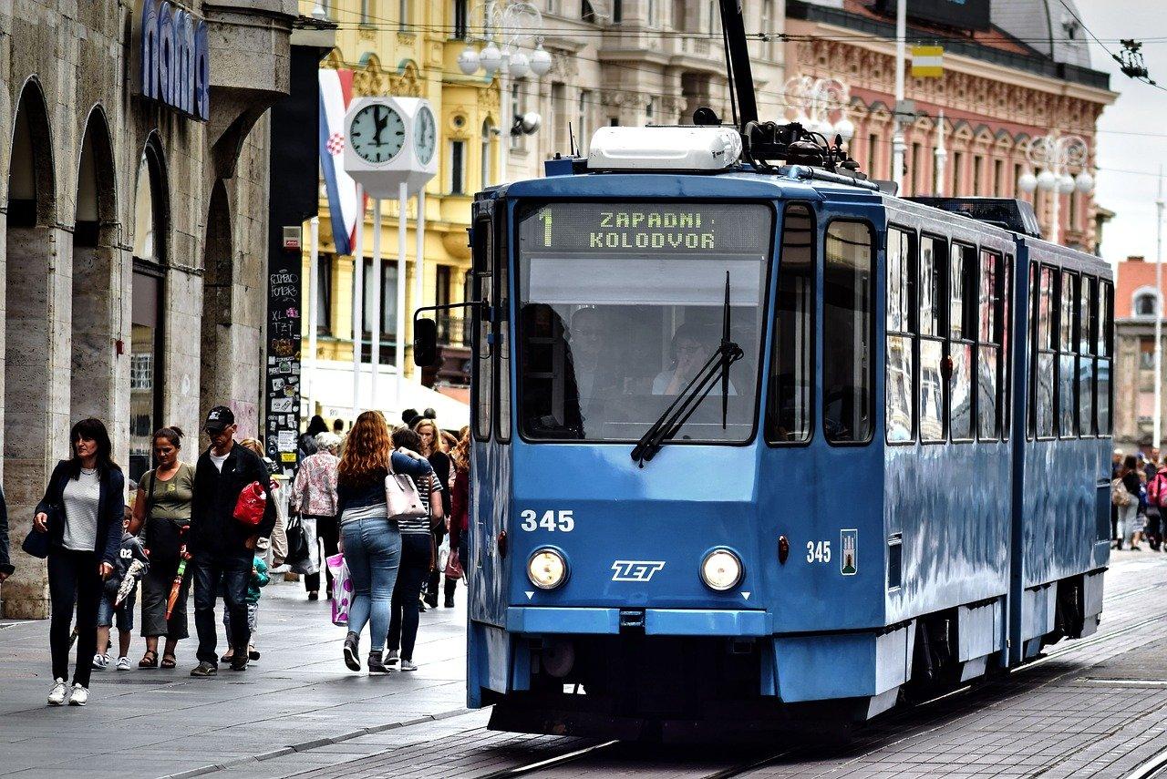 Transporte em Zagreb