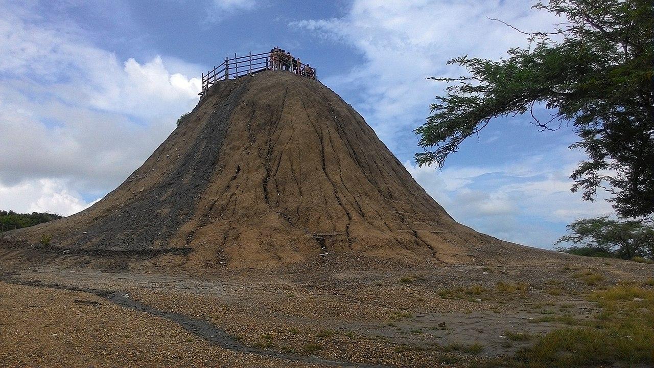 Vulcão em Cartagena