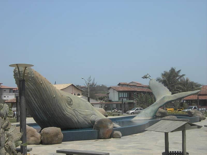 praça da baleia ubatuba