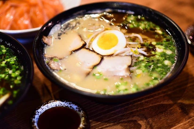 Comidas típicas do Japão deliciosas