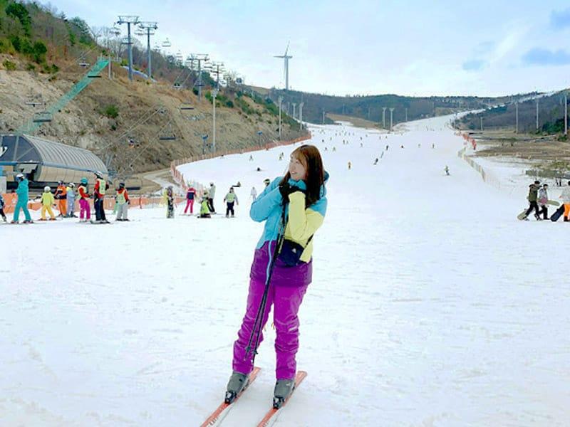 onde esquiar na coreia?