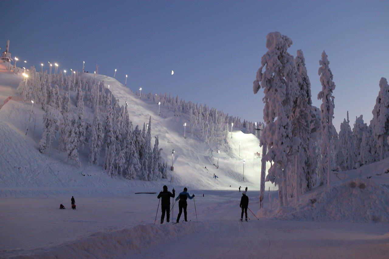 O que fazer na Finlândia no inverno.