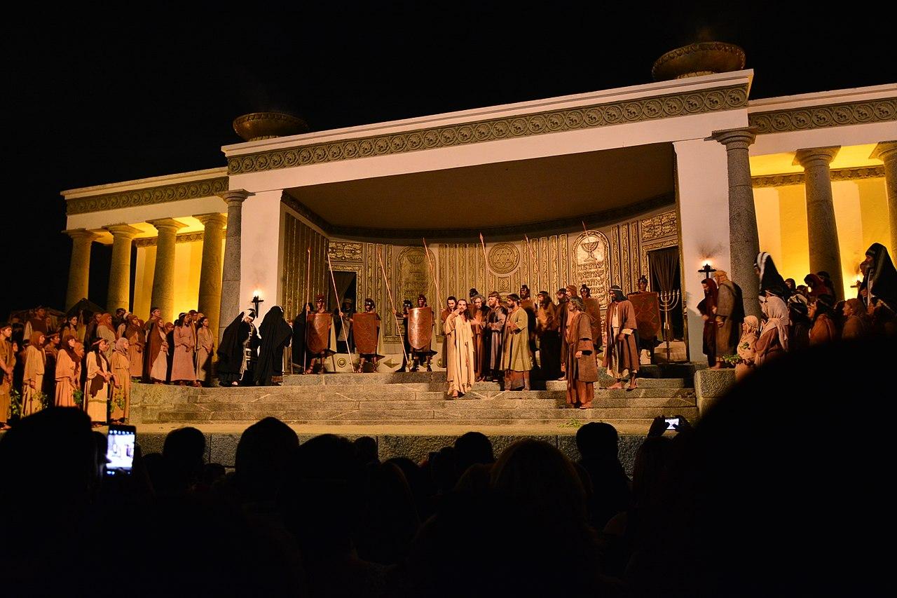 Imagens do teatro de Nova Jerusalém