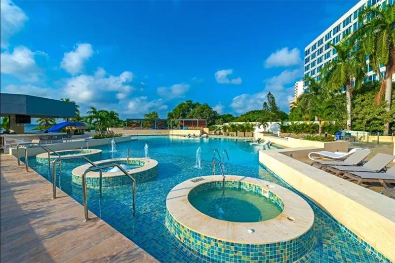 Boas opções de hotéis em Cartagena