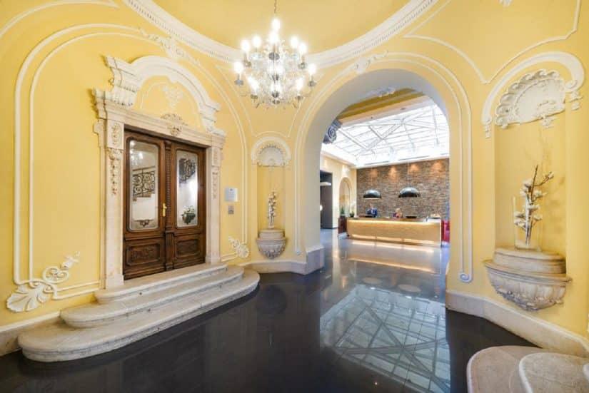 Hotéis em Budapeste rústicos