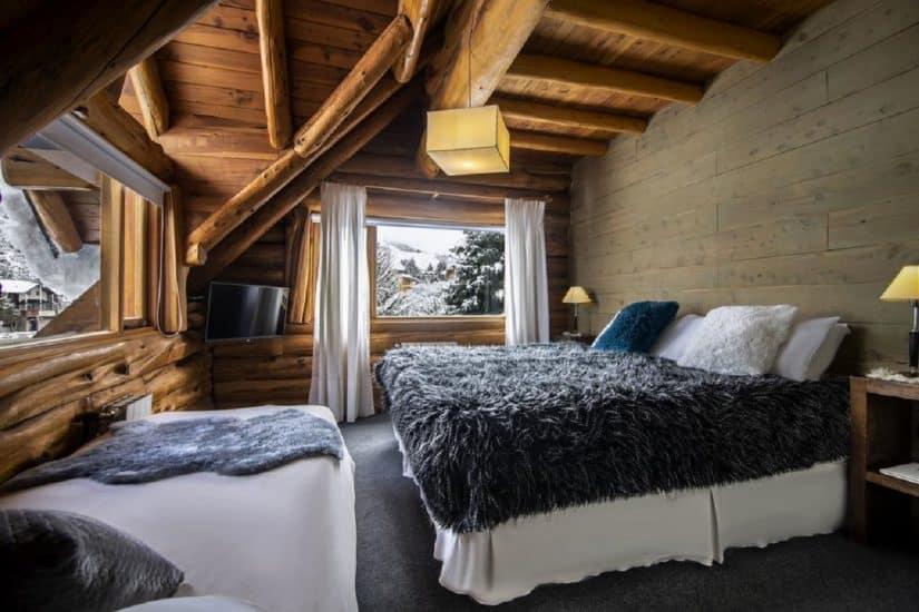 Hotéis na neve em Bariloche perto de paisagens lindas