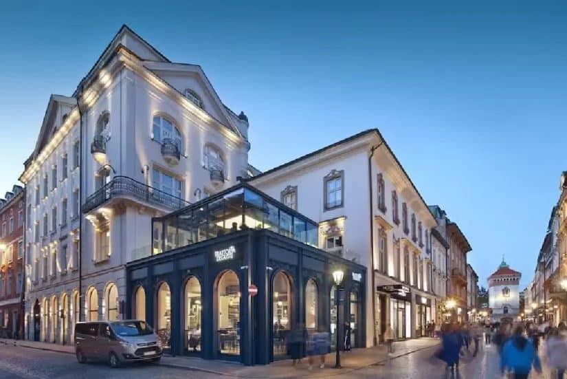 Excelentes hotéis na Polônia em termos de localização