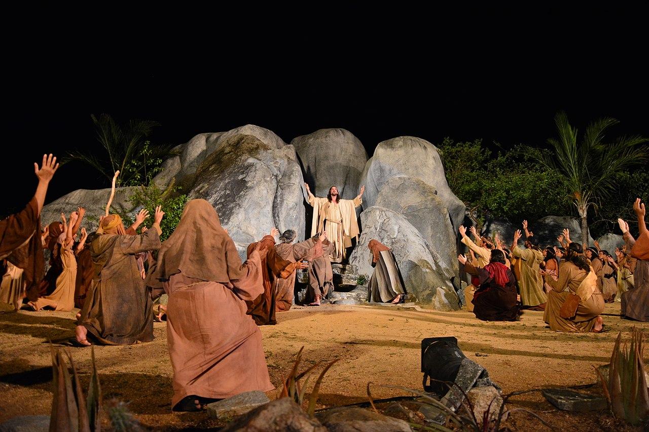 Espetáculo no Teatro de Nova Jerusalém