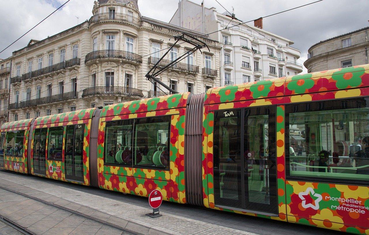 Transporte em Montpellier