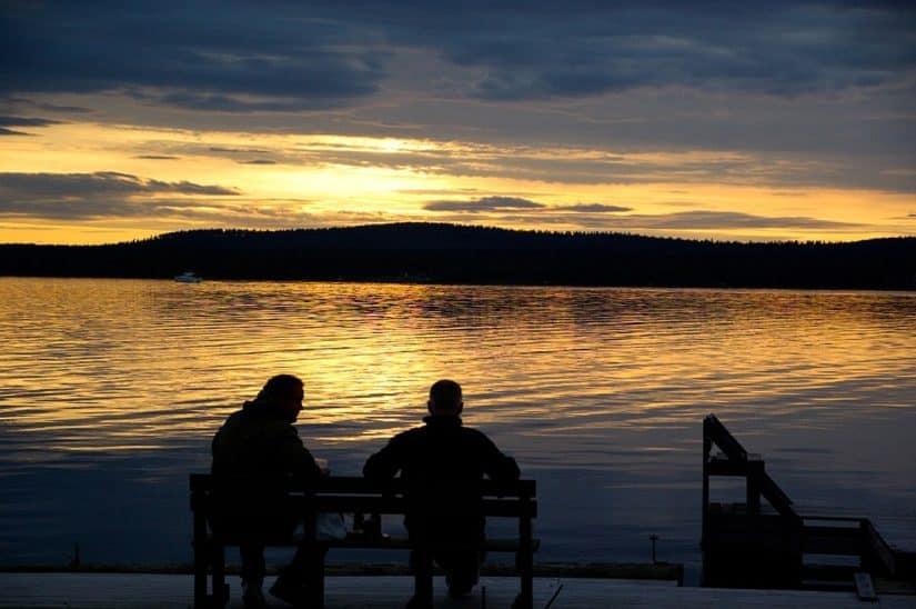 sol da meia noite finlândia