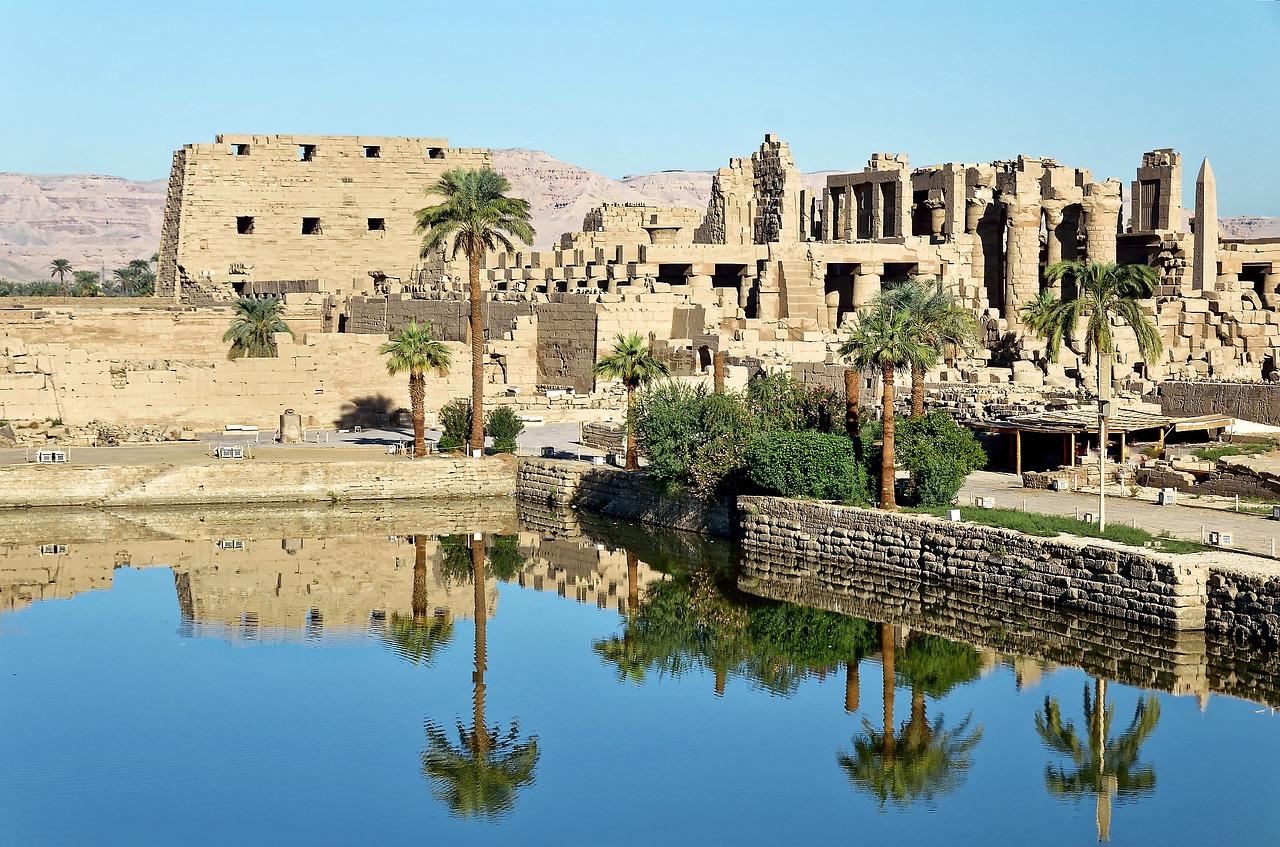 Principais templos das cidades do Egito