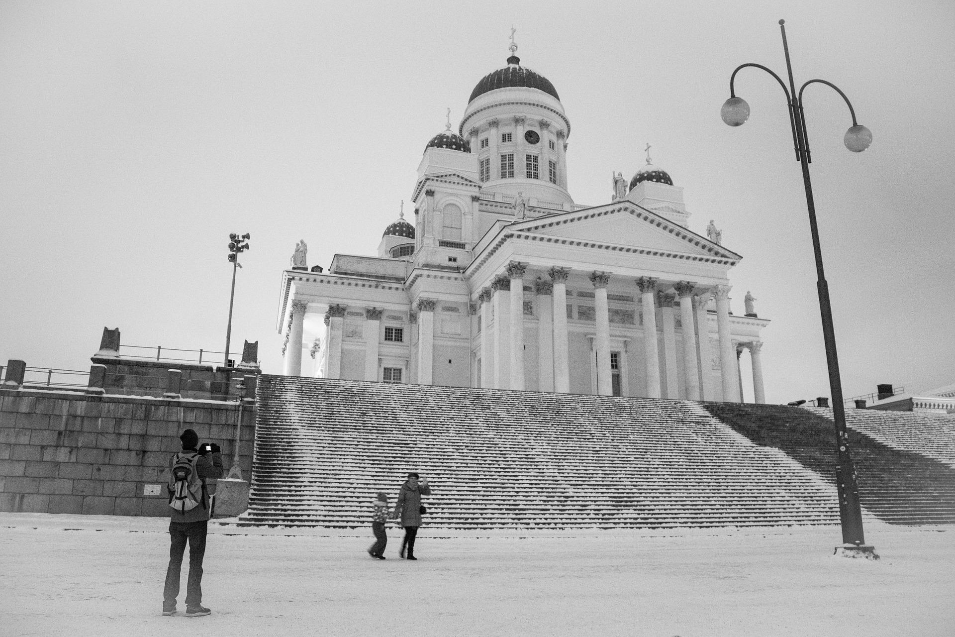 O que fazer em Helsinque no inverno.