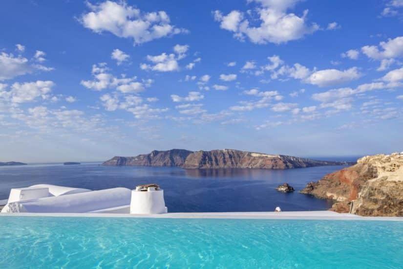 Hotéis com piscina em Santorini
