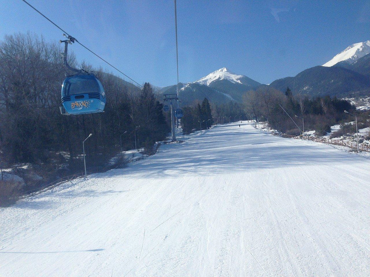 Esquiar na Bulgária