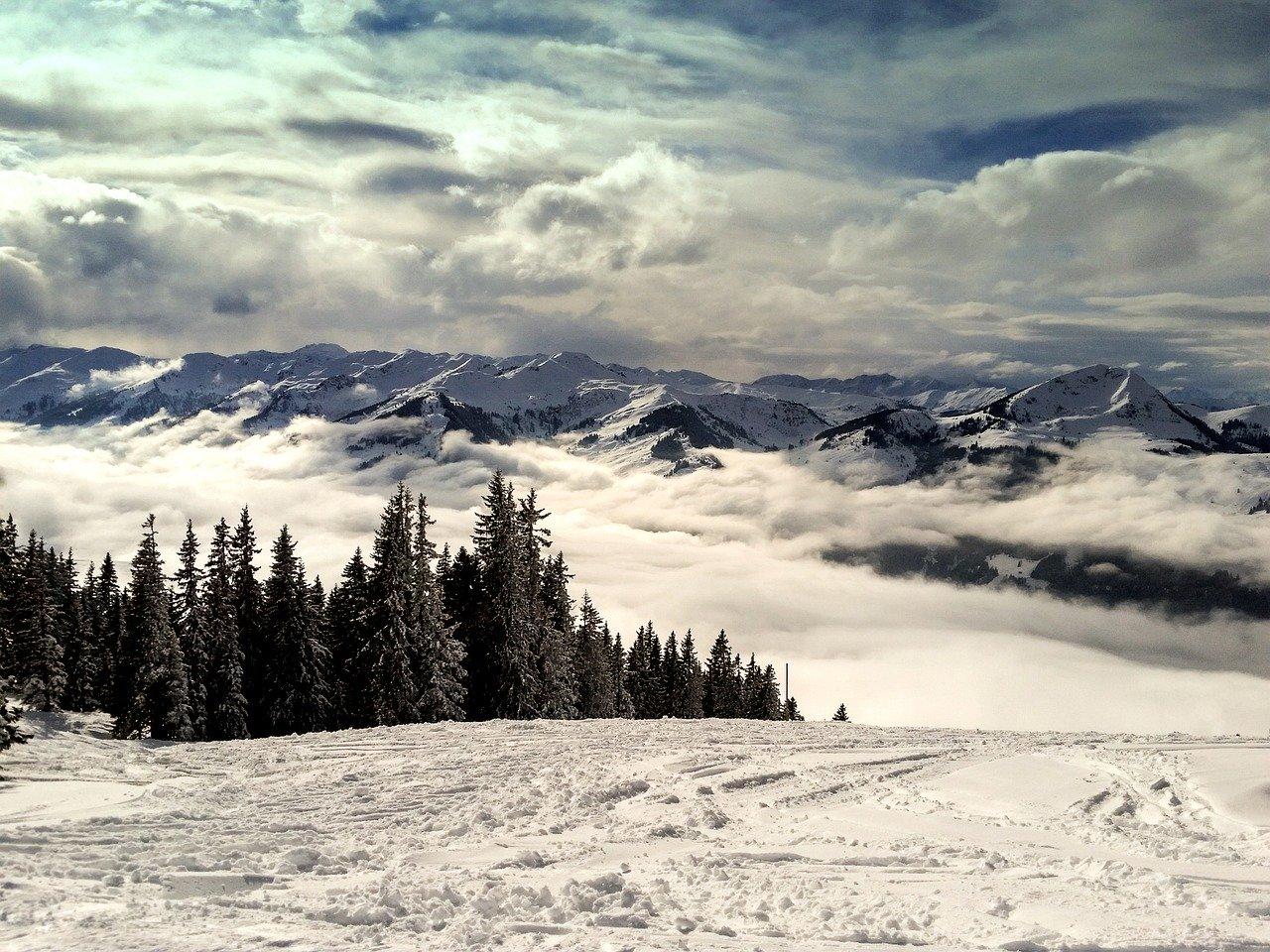 Esquiar na Áustria