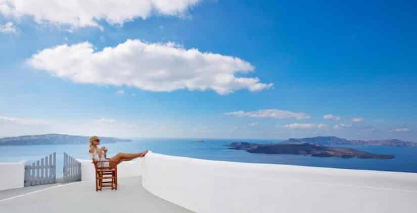 Melhores hotéis em Santorini