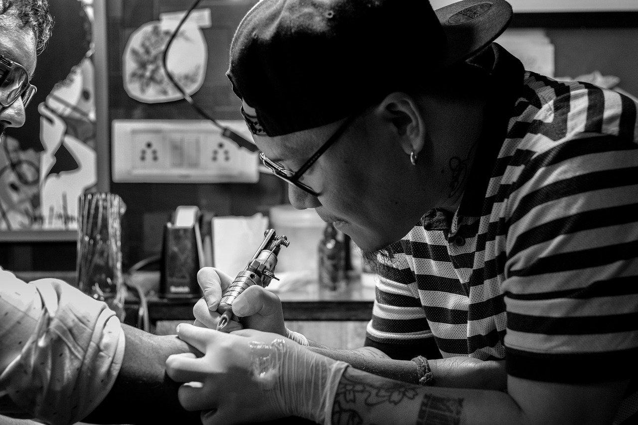 Tatuador na Coreia do Sul