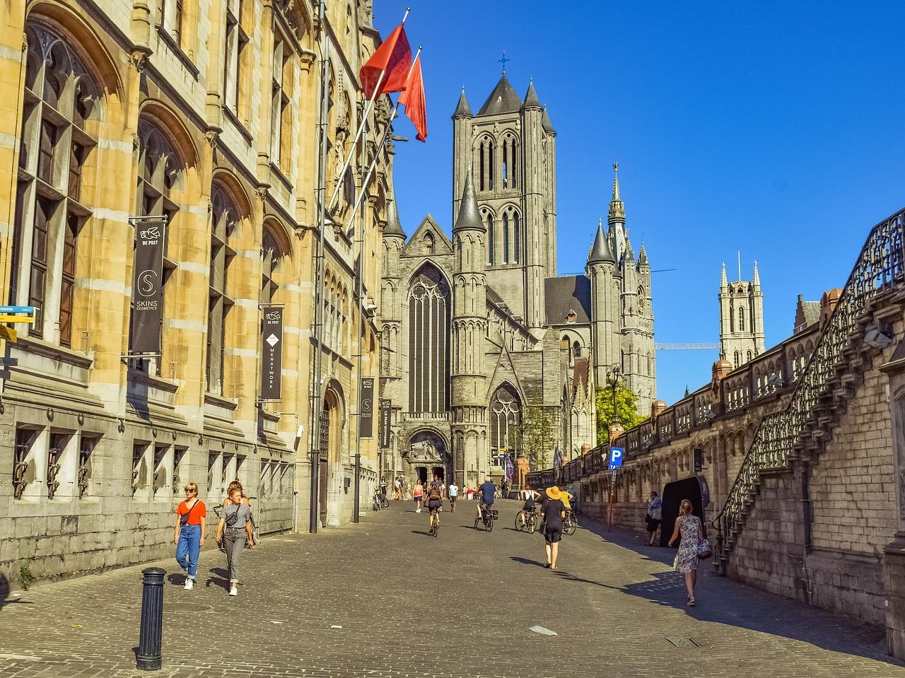 passeio a pé em Gent