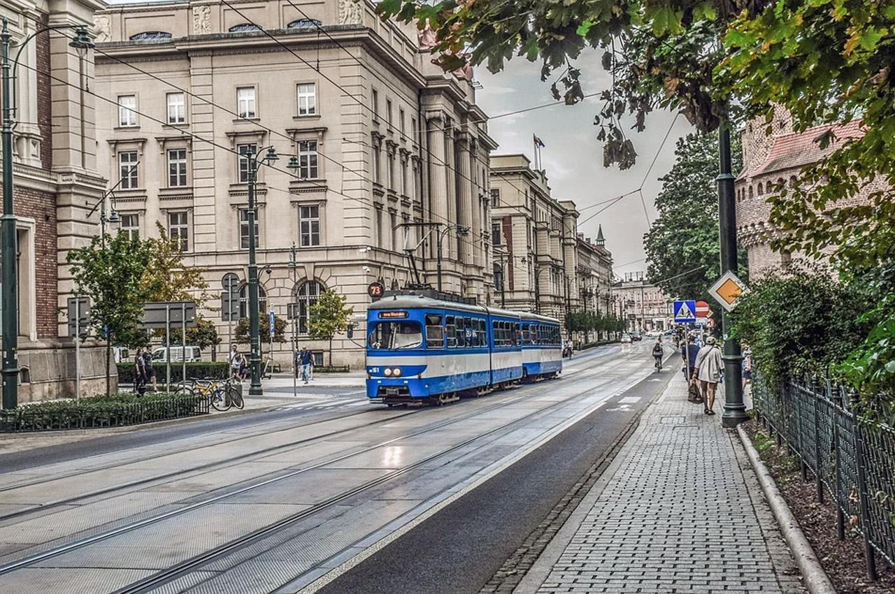 transporte público na Polônia