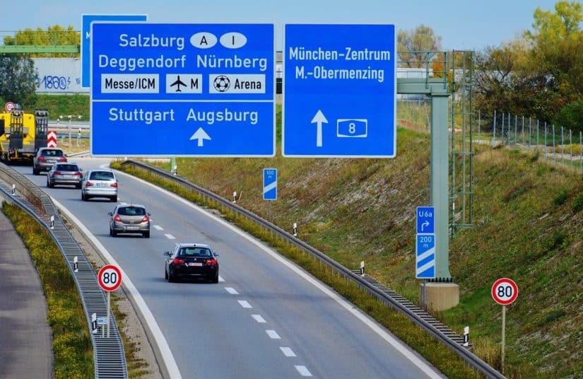 Sinalização de trânsito Alemanha