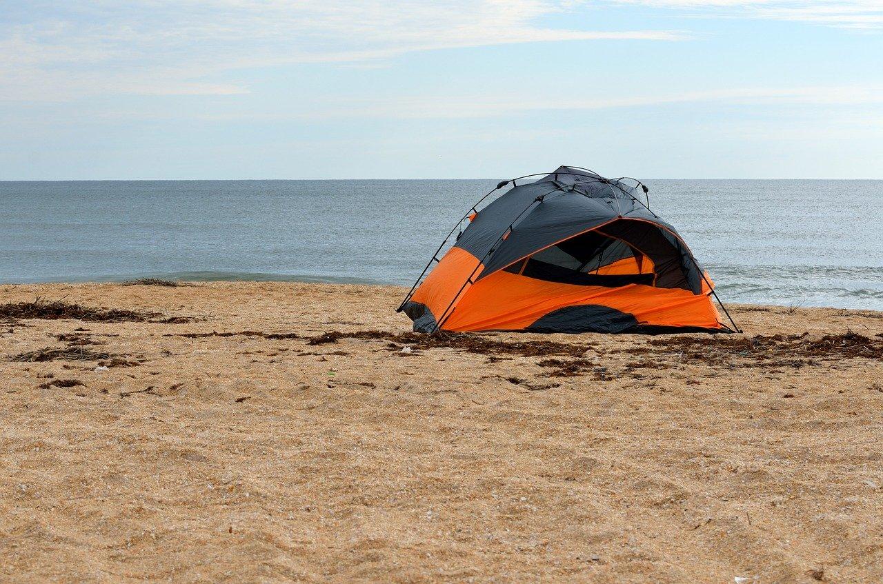 Camping na Praia