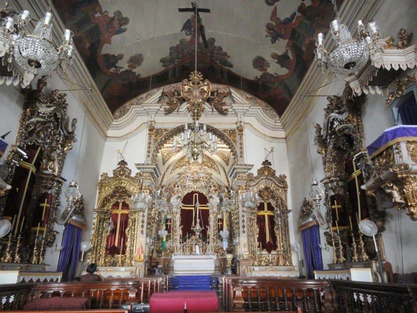Igrejas barrocas em minas gerais