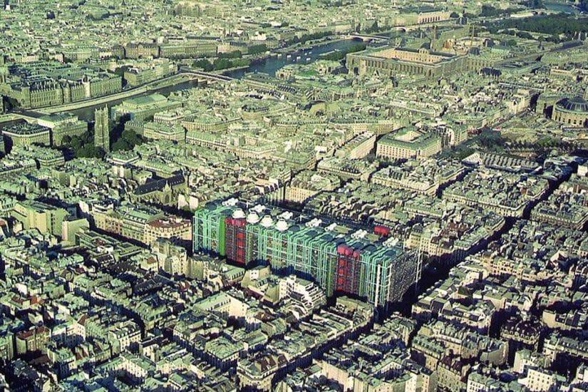 centro georges pompidou historia