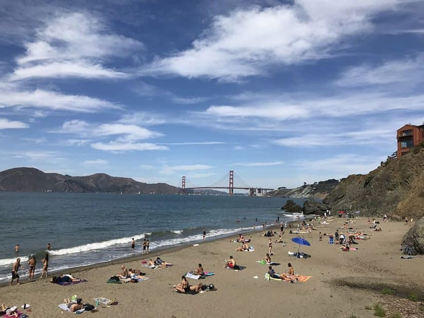 Praias em São Francisco