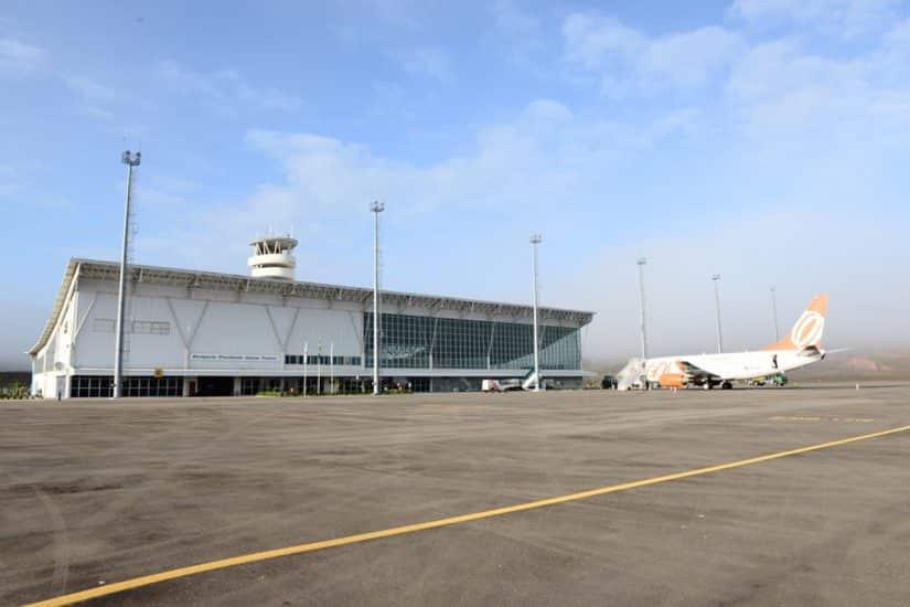 Aeroporto mais próximo de São João del-Rei