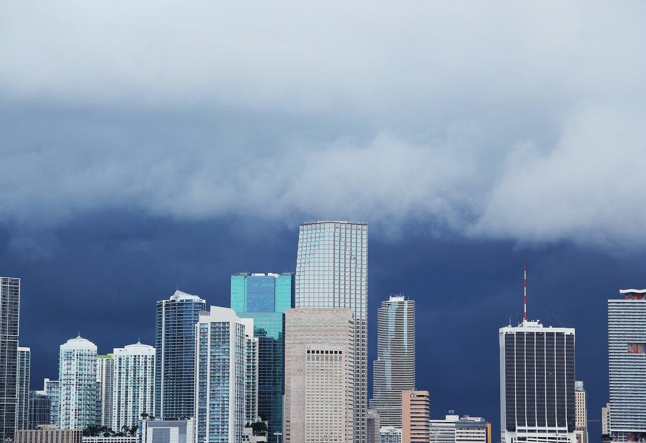 Miami com chuva
