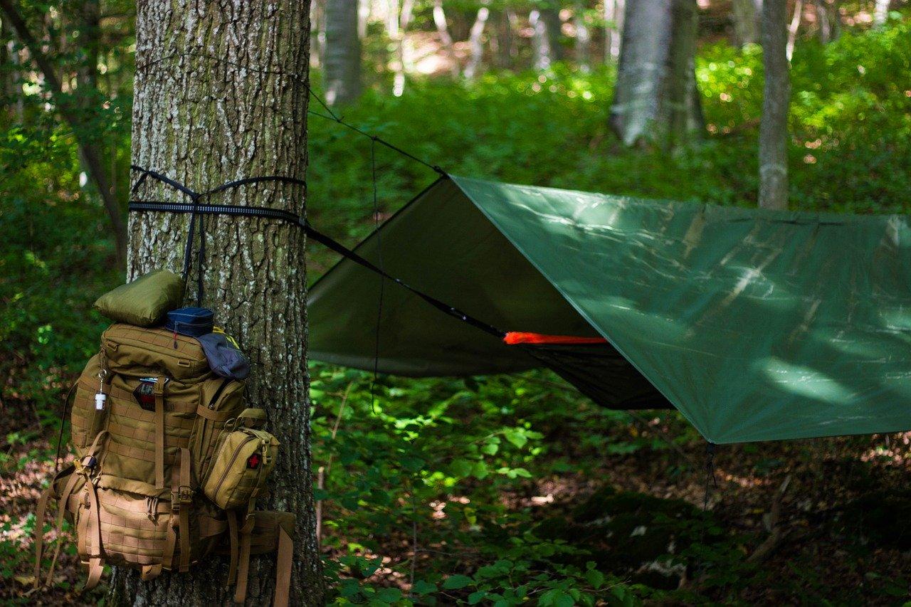 como fazer camping selvagem